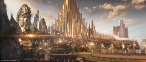 Marvel Thor Asgard
