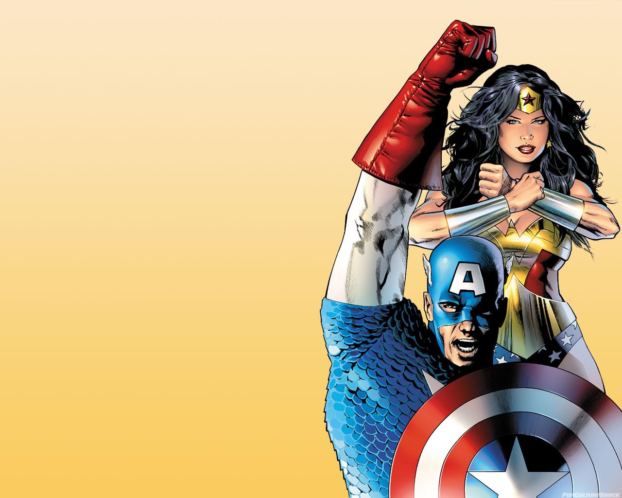 Top 10 Patriotic Characters in Geekdom | Lady Geek Girl and Friends