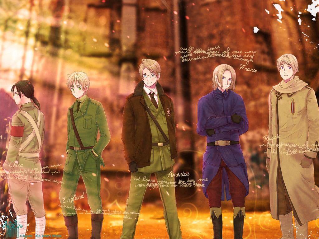 Hetalia wallpaper allies