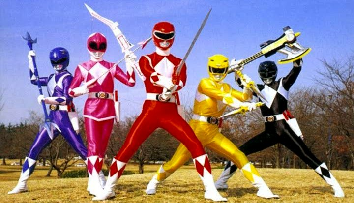 Since the dawn of recorded time aka the early 90 s the power rangers