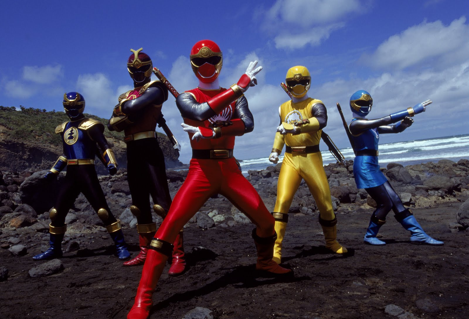 Power Rangers | Lady Geek Girl and Friends