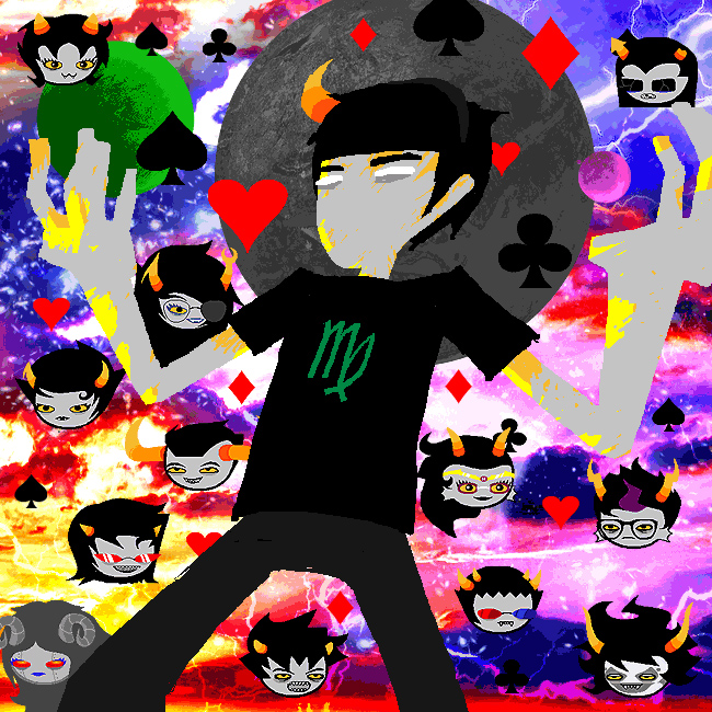 Homestuck Typing Quirks