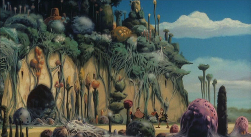 month nausicaa of the valley of the wind lady geek girl and friends