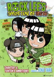 rock lee's spring time of youth