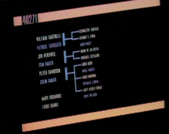 Seriously. Zoom in. It's kind of hard to make out, though Colin Baker's name is pretty clear.