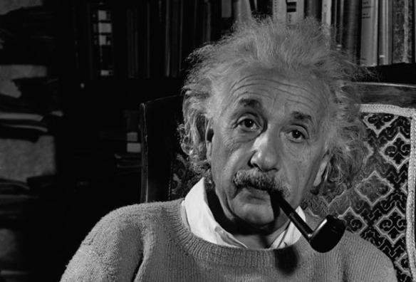 """I believe that pipe smoking contributes to a somewhat calm and objective judgement in all human affairs."" -Albert Einstein, 1950"