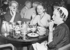 Ladies Enjoying their Pipes