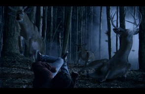 And I thought this CGI was bad. The deer this episode is soooo much worse.