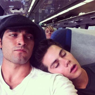 Okay, this pic isn't really Sterek but just go with it because it's cute!