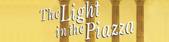 The Light in the Piazza- Logo