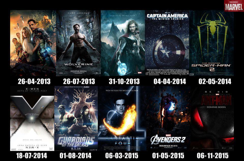 marvel film i 2016