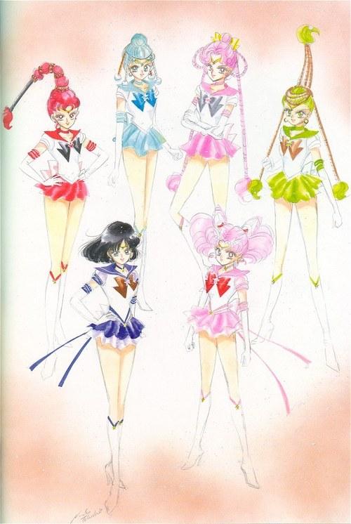 Sailor Moon- Chibiusa's Team