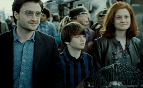 """Or if you're Harry and Ginny Potter.  I don't think any of us are getting over """"Albus Severus"""" anytime soon."""