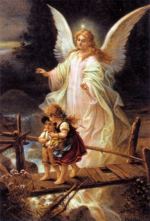 It's art like this that, while very pretty, feeds boring and bland ideas about angels.