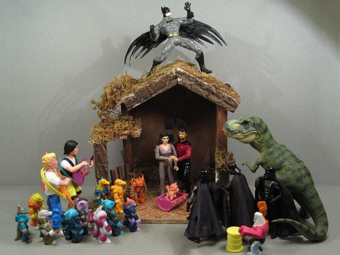 Oh, My Pop Culture Jesus: Geek Nativity Scenes | Lady Geek Girl ...