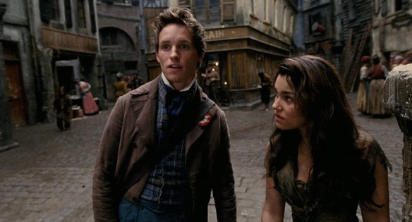 Marius's face as he stares blankly at Cosette is one of my favorite things, though