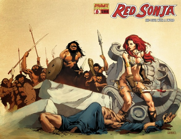 red sonja cover