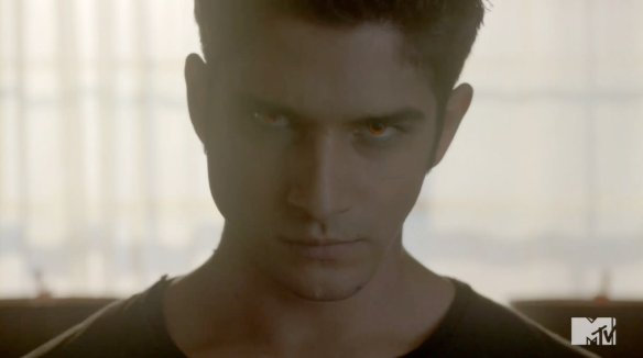 """Scott's face when someone says, """"We have to kill Stiles!"""""""
