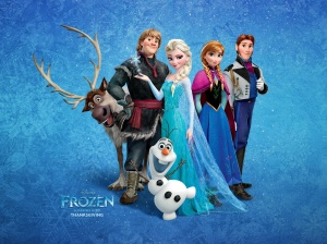 Frozen group picture