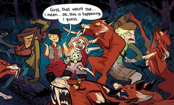 lumberjanes fox fighting