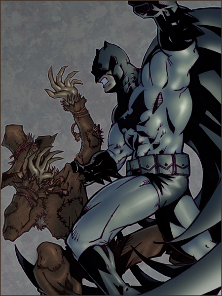 batman_vs__scarecrow_by_bloodmarionette