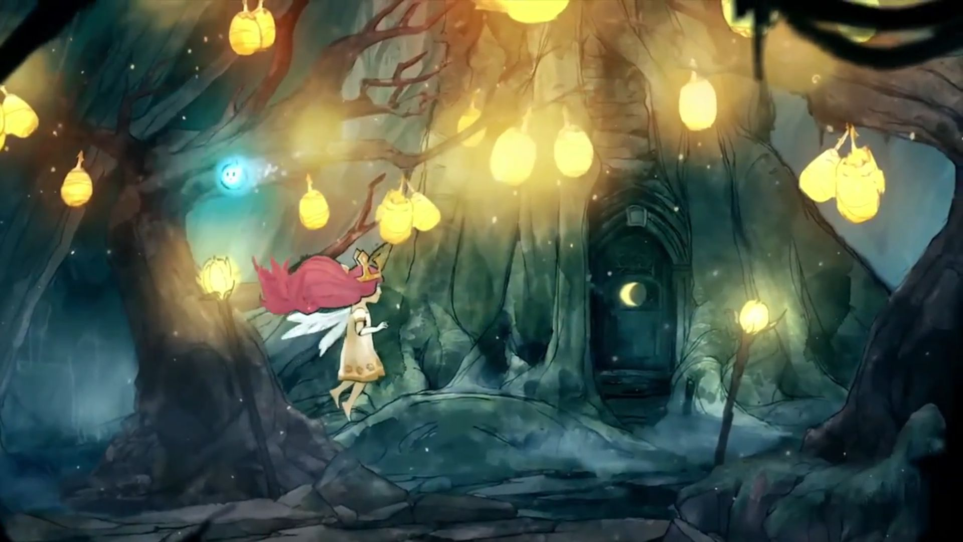 Risultati immagini per child of light forest
