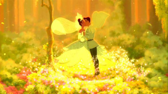 Princess and the Frog Naveen Tiana Kiss