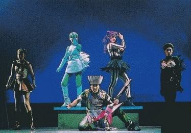 I love you ladies. Really, I do, but I can live without you in this musical.
