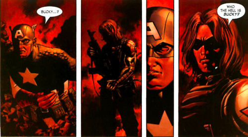 who the hell is bucky comic