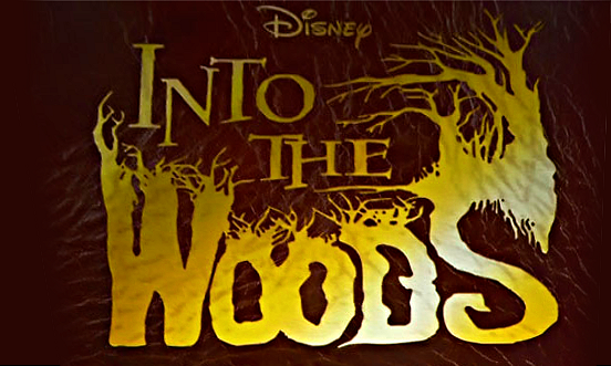 Disney Into the Woods Movie Logo