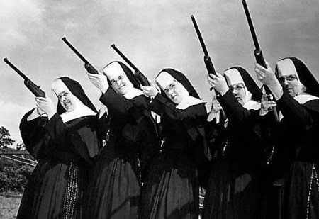 nuns and guns