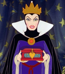 But honey, why would you sacrifice that eyebrow game for someone as annoying as Snow White?