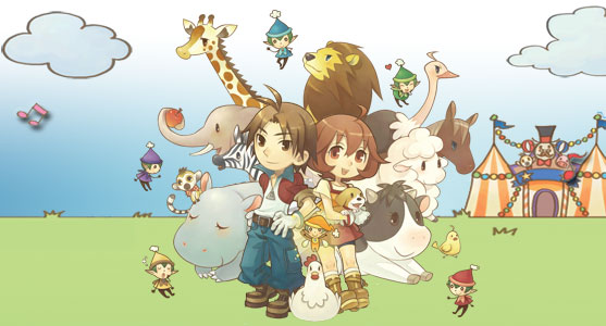 Harvest Moon Animal Parade Characters