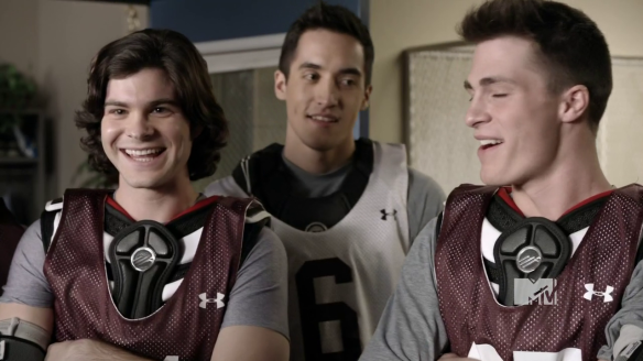 Danny and Jackson Teen Wolf lacrosse team