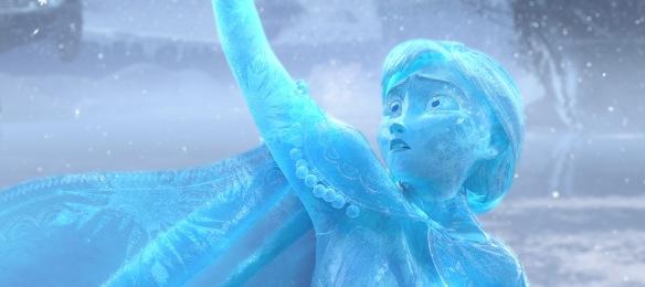 Frozen Anna Ice Statue