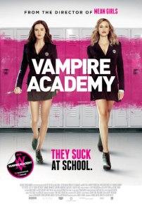 Vampire Academy movie poster