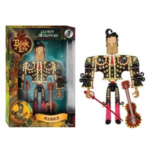 You can even buy a Manolo action figure with sword and guitar, so you can make him re-live his difficult but self-affirming decision over and over again?
