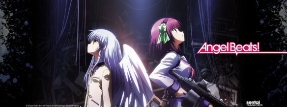Angel Beats! Title Card