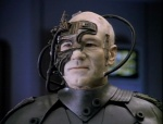 Upon assimilation, Borg drones become extremely white.