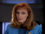 Dr. Beverly Crusher (Gates McFadden)