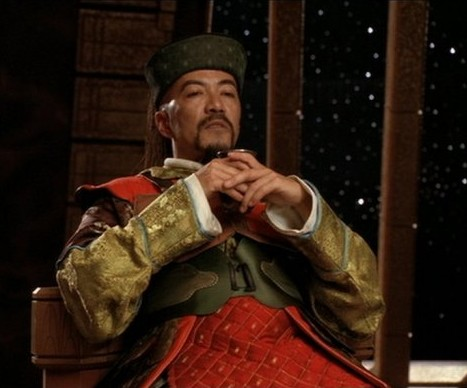 The mentally ill Jade Emperor Yu-huang Shang Ti, one of the few Goa'uld to have an explored mental illness that's represented accurately.