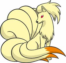 Remember Ninetales? Totally a kitsune. With real tails and everything!
