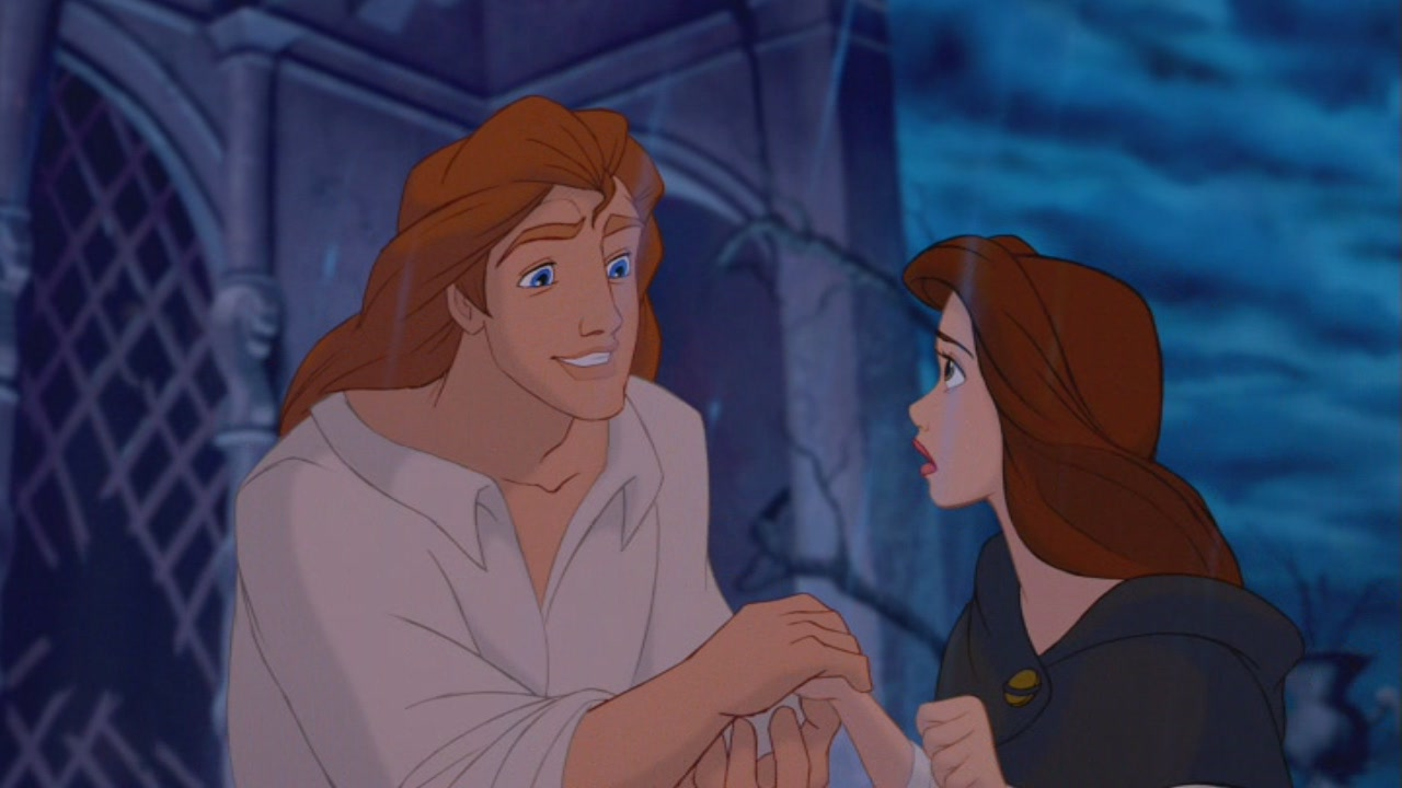 belle beauty and the beast ending a relationship