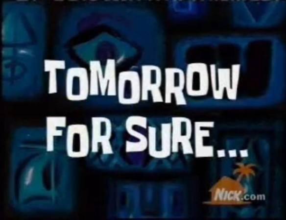 Hiatus Spongebob Pic