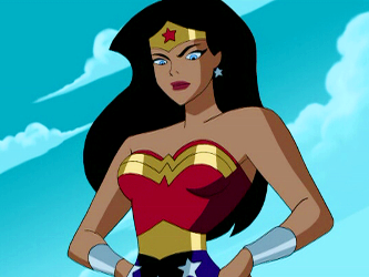 Image result for justice league cartoon wonder woman