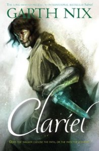 Alternate, sadder cover of Clariel.