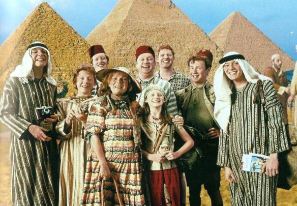 weasley family egypt