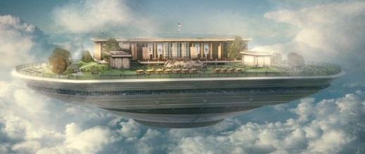 Sky High floating school