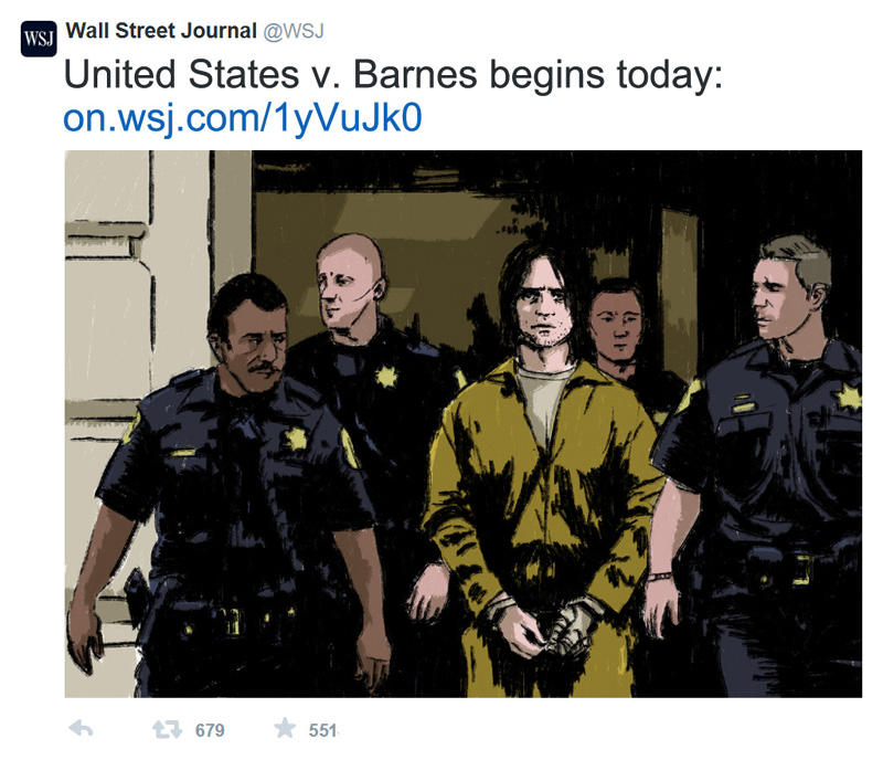Fanfiction Fridays: United States v  Barnes, 617 F  Supp  2d 143