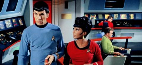 Uhura & Spock